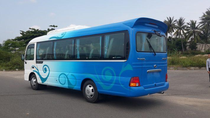 thuê xe du lịch Quảng Bình 30 chổ