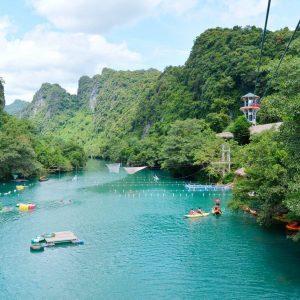 Tour Sông Chày Hang Tối