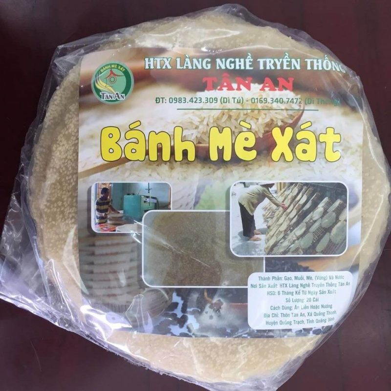 Làng Nghề Bánh Tráng Tân An