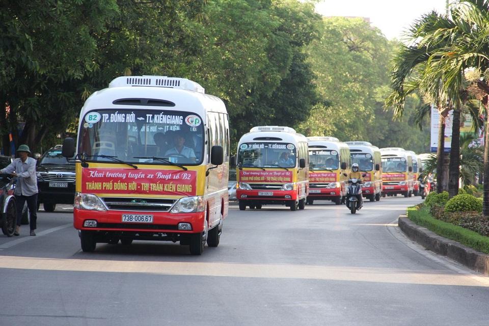 Các Tuyến Xe Buýt Xuất Phát Tại Đồng Hới