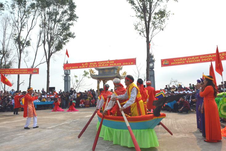 Lễ Hội Cầu Ngư Làng BIển Cảnh Dương